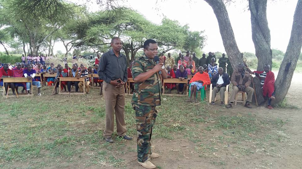 KWS_kajiado_speaking to Elders