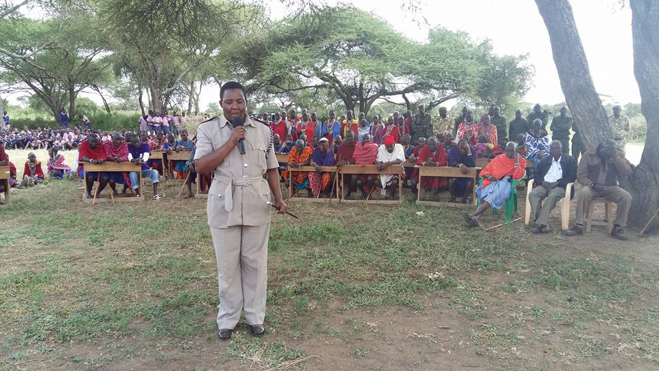 kajiado_speaking to Elders