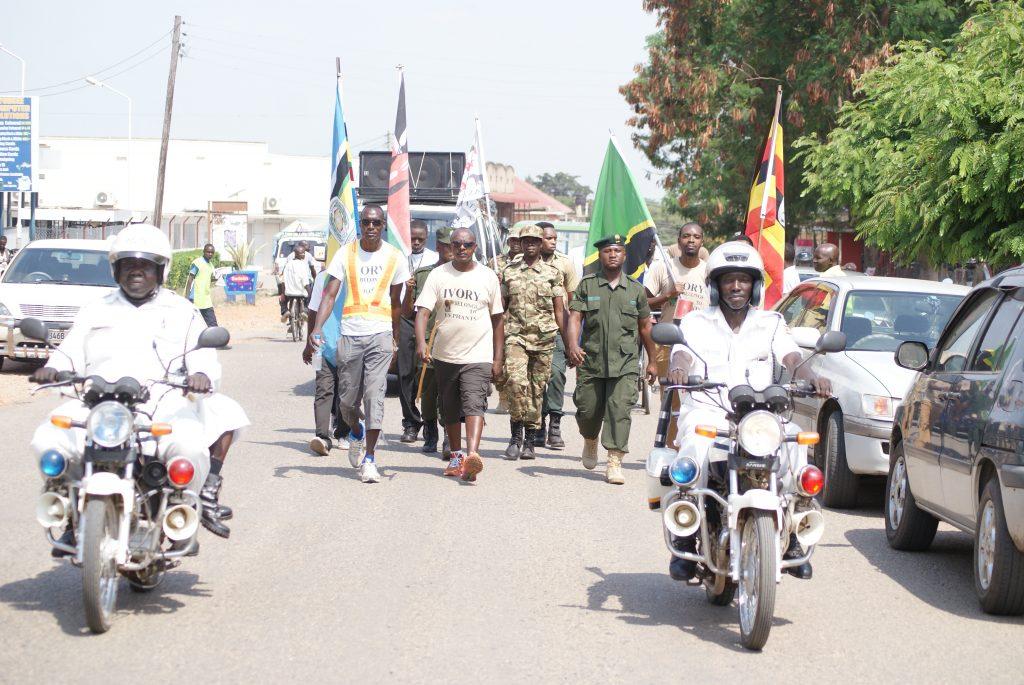 Uganda Police leading the team in Kasese